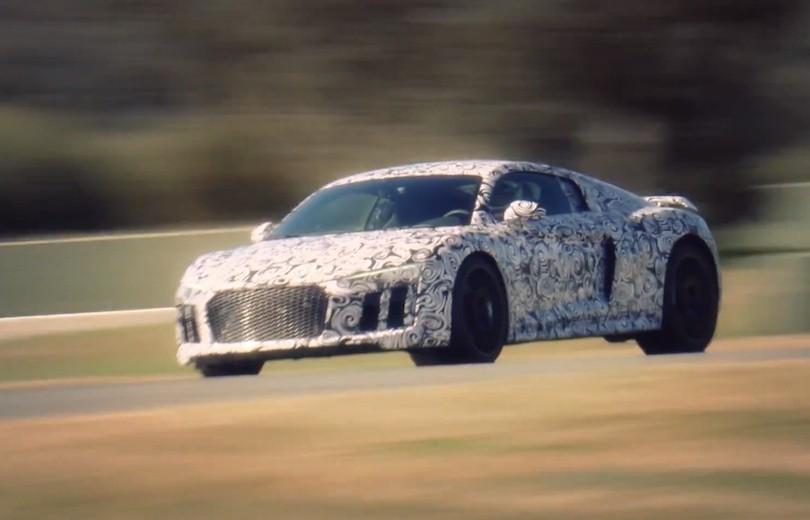 Kom med bag rattet i den nye Audi R8