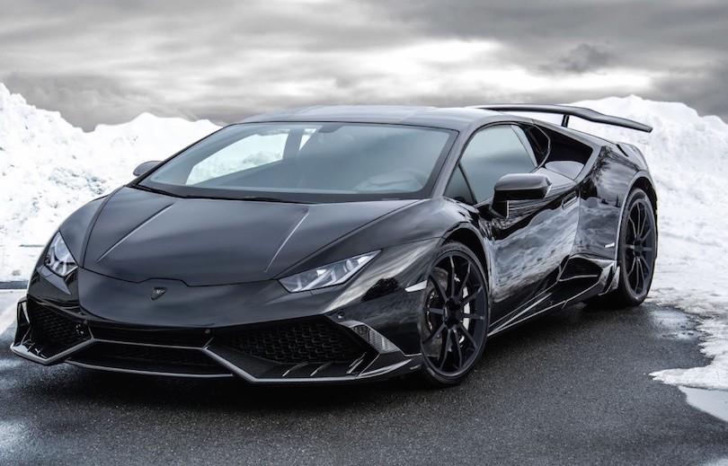 Turboladet Lamborghini Huracan med 840 hk