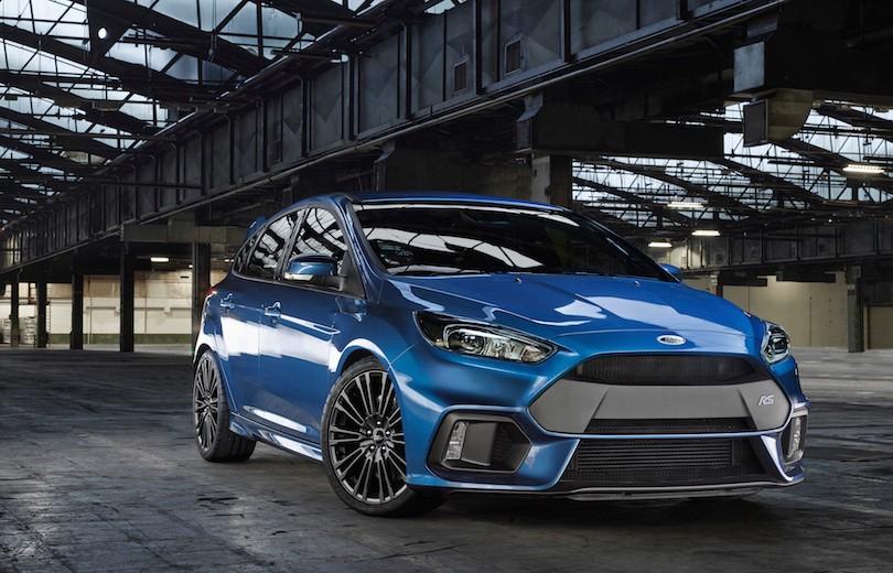 Så er den her: Ny Ford Focus RS