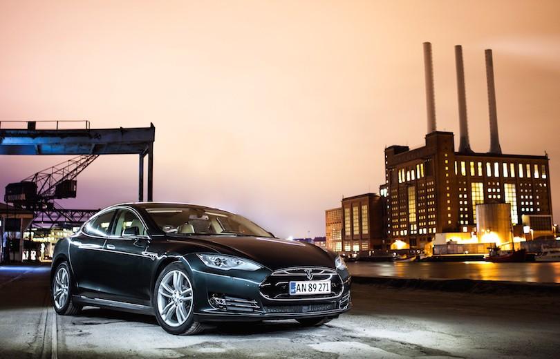 Ny Tesla Model S indstigningsmodel