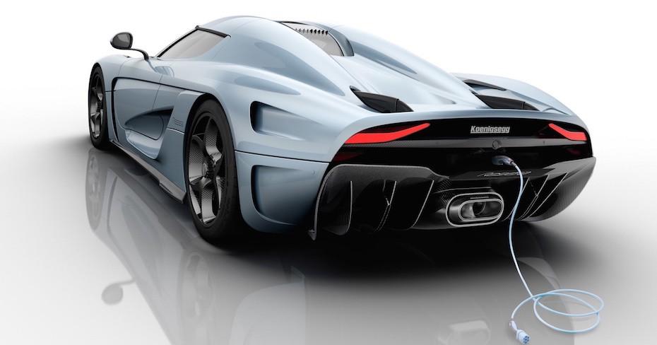 Den nye Koenigsegg Regera R er en hybrid superbil