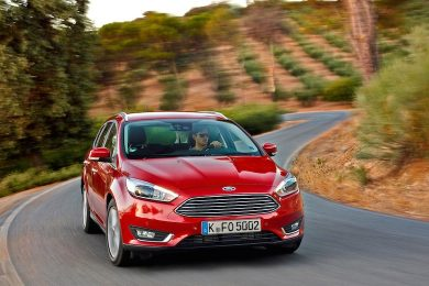Faceliftet ford focus privatleasing