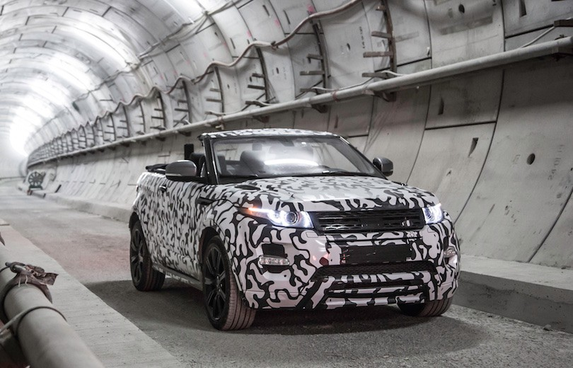 Range Rover offentliggør topløs Evoque…