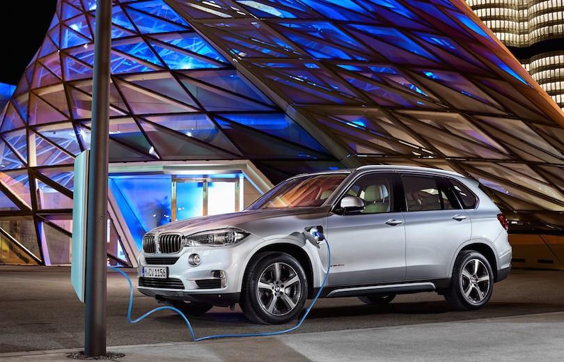 BMW X5 som plug-in-hybrid