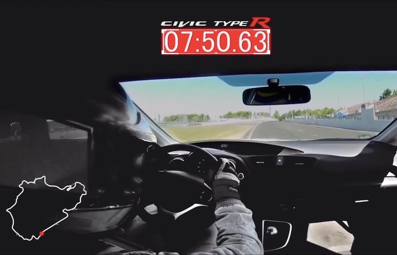 Ny Civic Type R sætter rekord på Nürburgring
