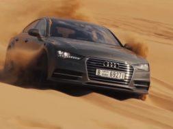 Audi A7 i Dubai