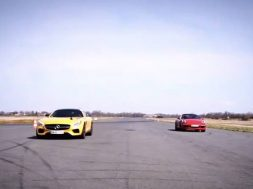 Mercedes-AMG GT S vs. Porsche 911 GTS 4 forside