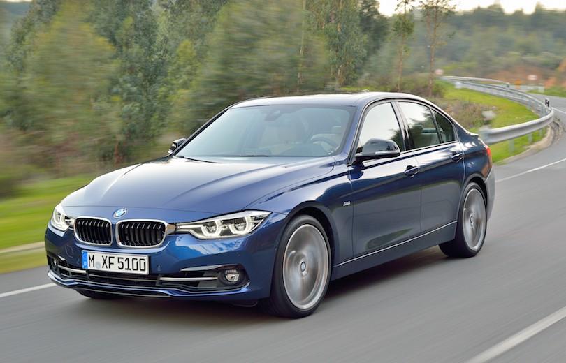 Faceliftet BMW 3-serie er offentliggjort