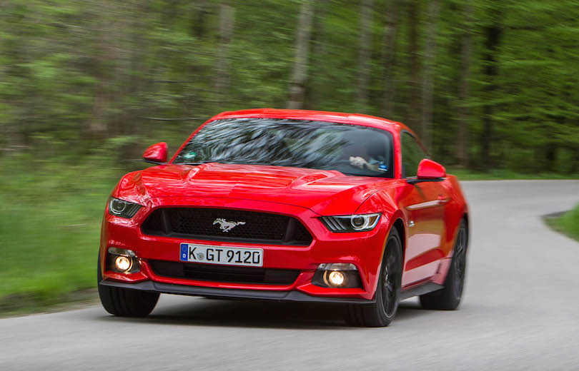 First drive: Ford Mustang V8