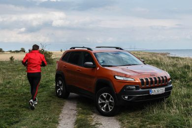 Jeep cherokee trailhawk test