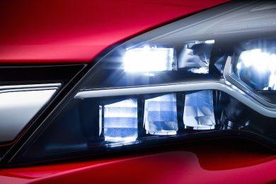 Ny Astra får LED forlygter