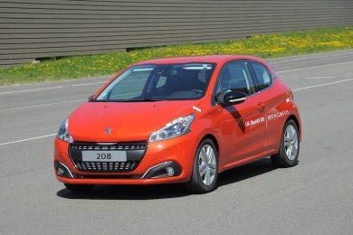 Peugeot 208 Bluehdi kører næsten 2.150 km!