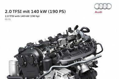 TFSI motor med 190 hk