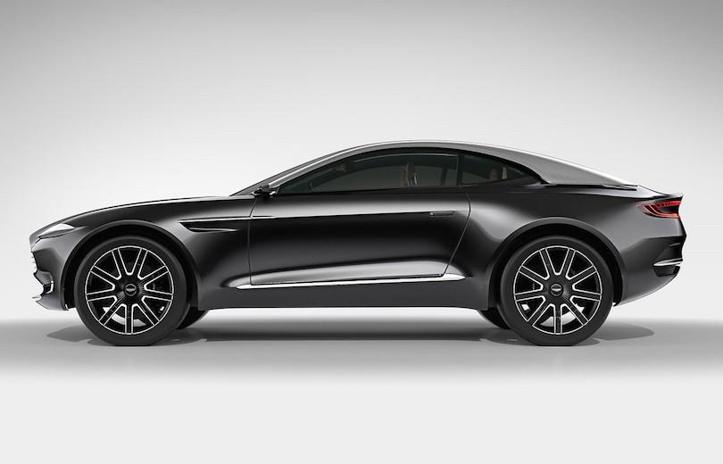 Aston Martin får to milliarder til DBX crossover