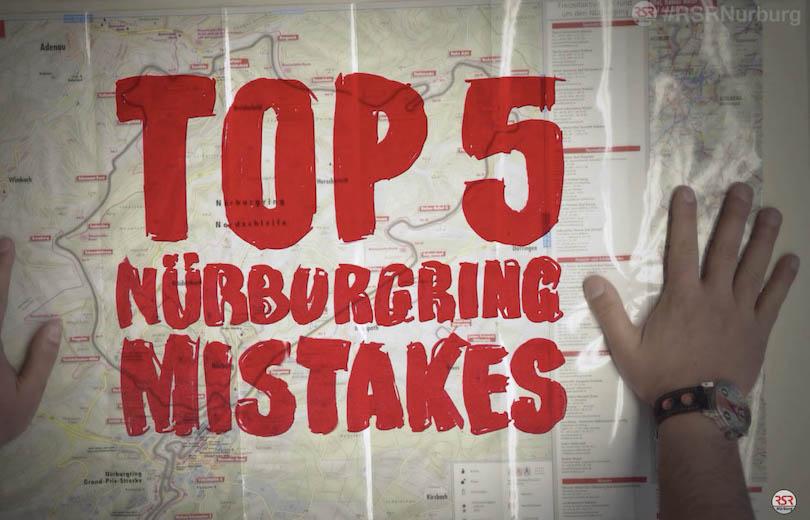 Top fem fejl på Nürburgring