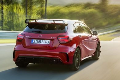 Faceliftet Mercedes A45 AMG
