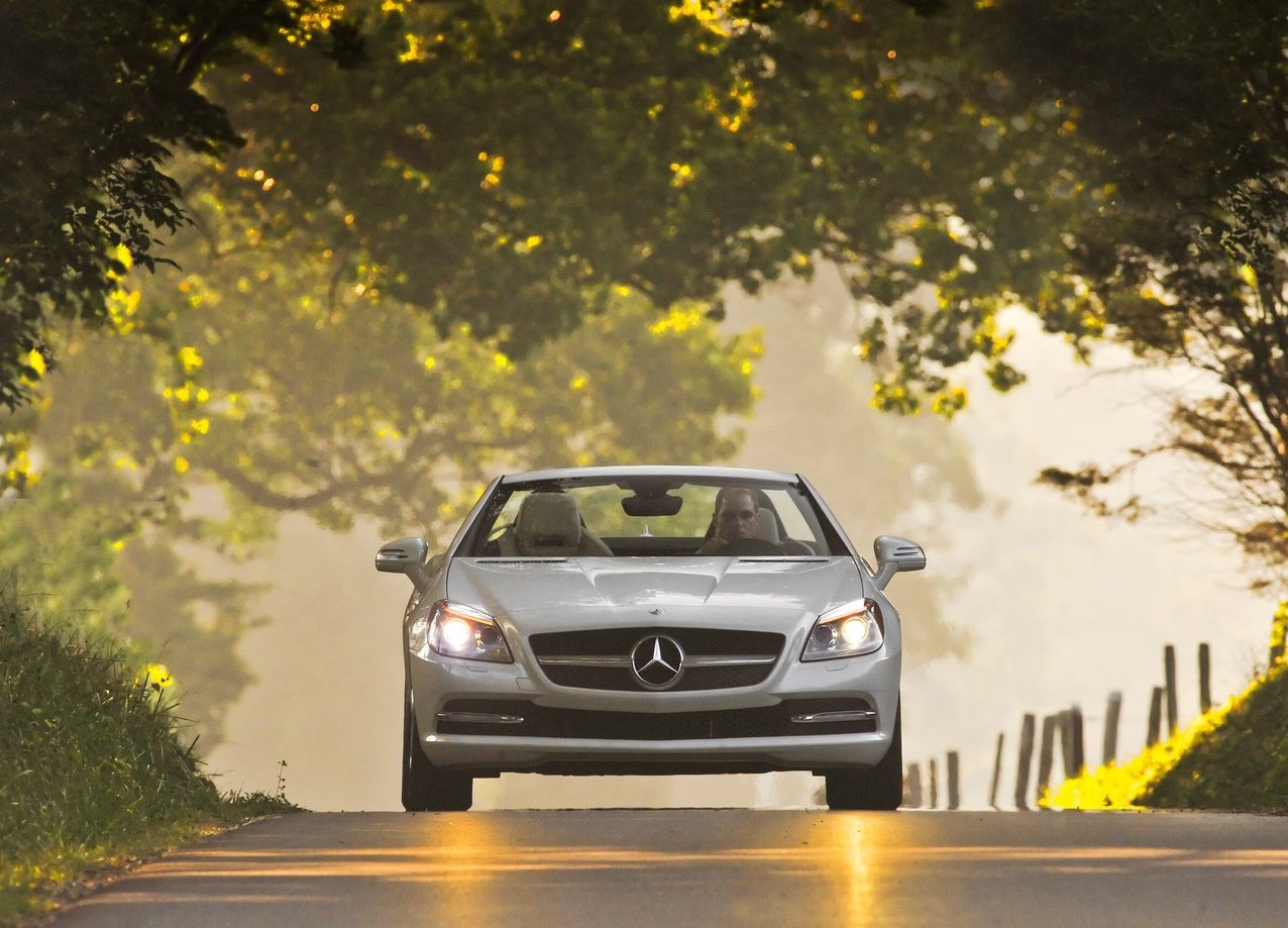 Mercedes-Benz dropper manuelle gearkasser i USA