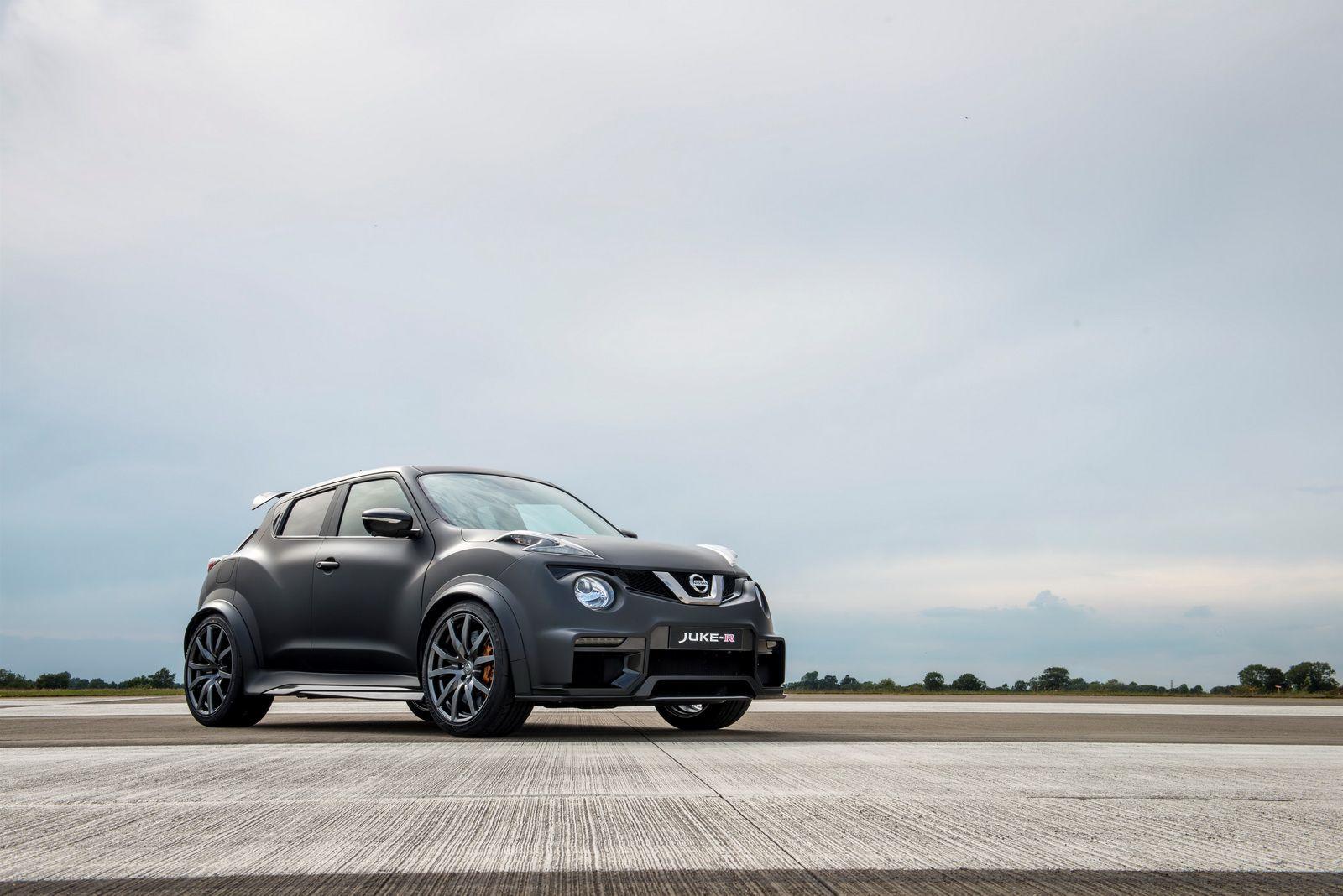 Nissan løfter sløret for vanvittig Juke-R