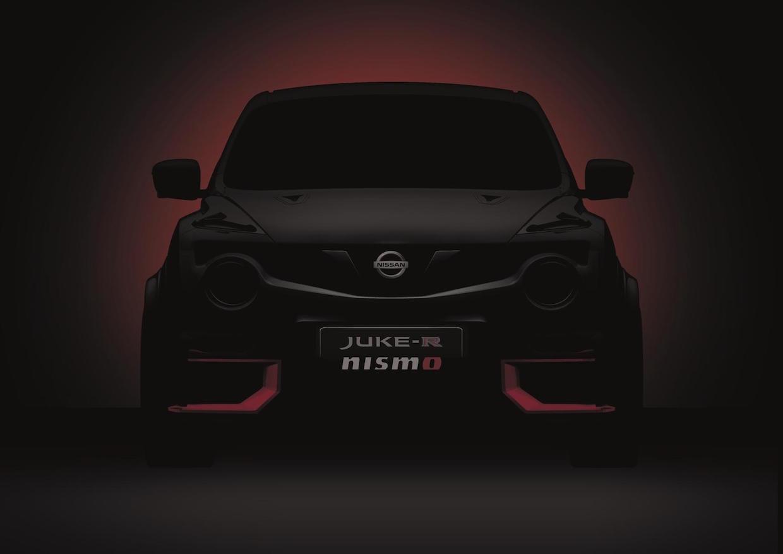 Nissan JUKE-R NISMO med næsten 600 hestekræfter