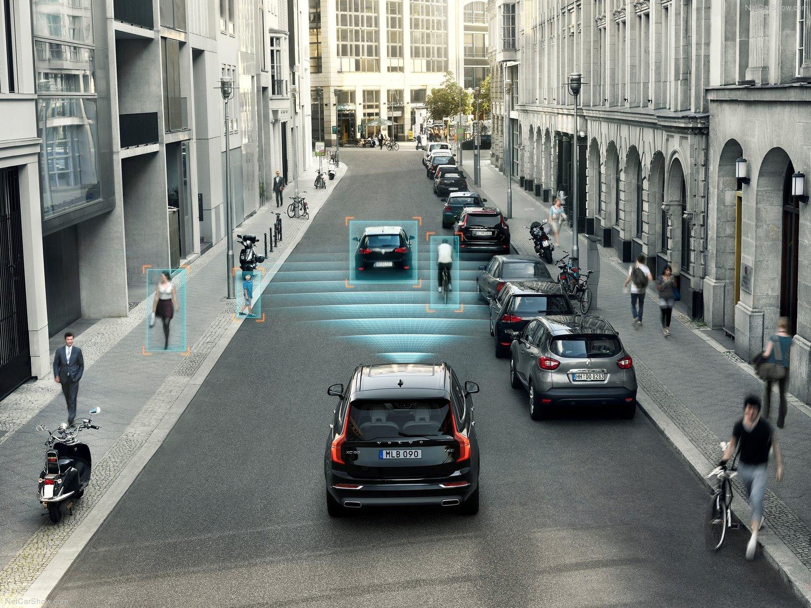 Volvos standardmonterede sikkerhedsudstyr nedbringer antallet af skader med 28%
