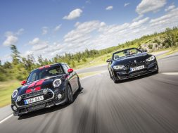 Mini Cooper S JCW Tuning og BMW M4 Performance udstødning