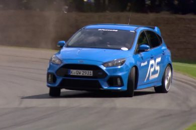 Ford Focus RS ved Goodwood Festival of speed