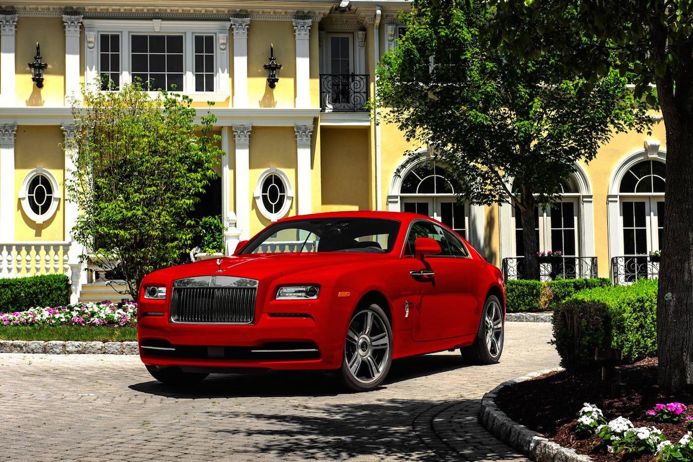 632 hestes Wraith er den mest potente Rolls-Royce til dato