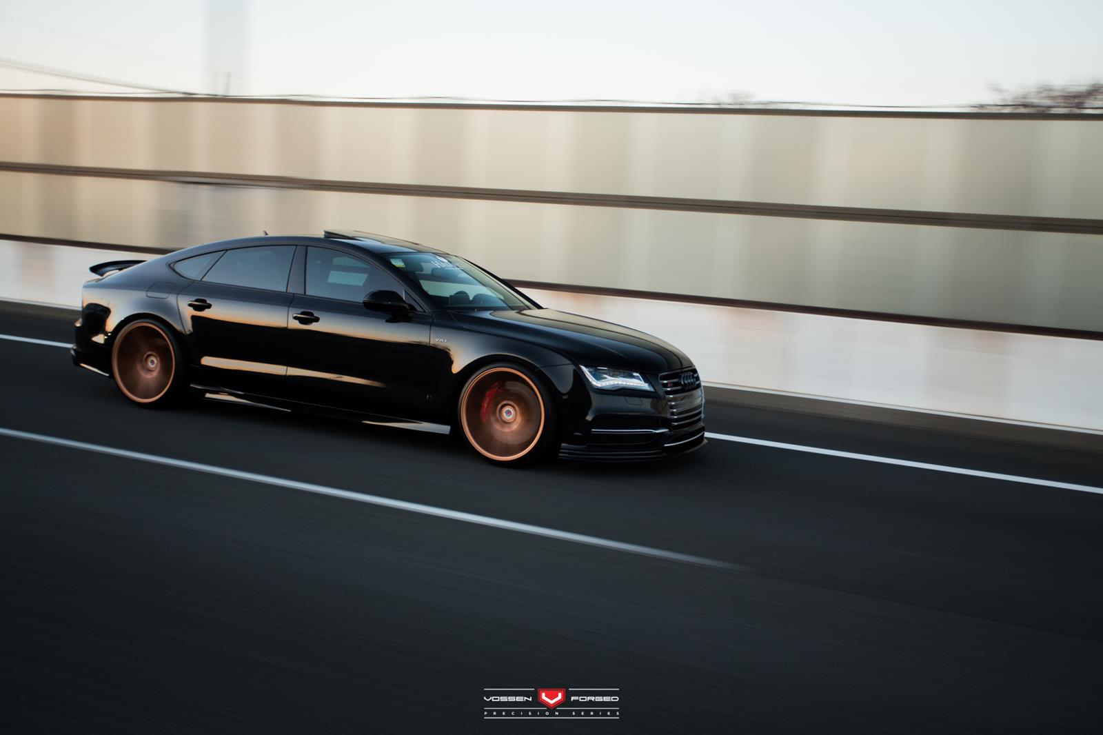 Knivskarp Audi S7: VOSSEN-fælge sætter prikken over i'et
