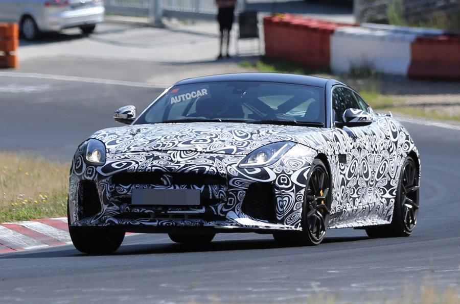 Ny 600-hestes Jaguar F-Type SVR: 0-100 på 3,5 sekunder