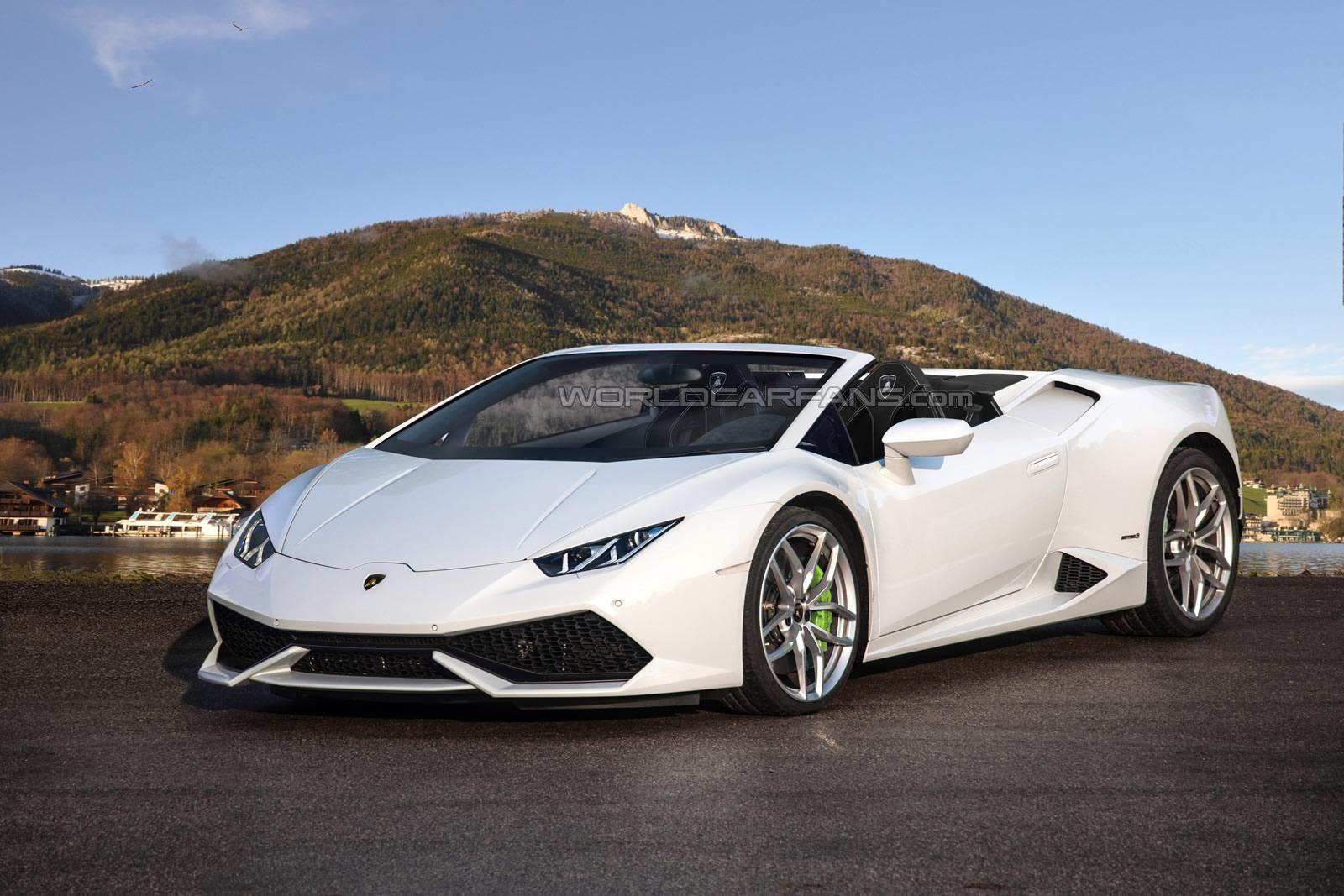 Lamborghini Huracan Spyder offentliggøres til september