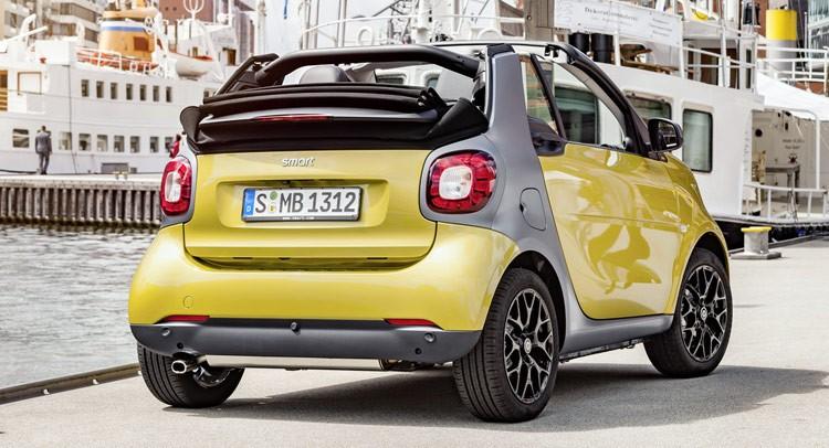 Ny Smart ForTwo Cabriolet offentliggøres til september