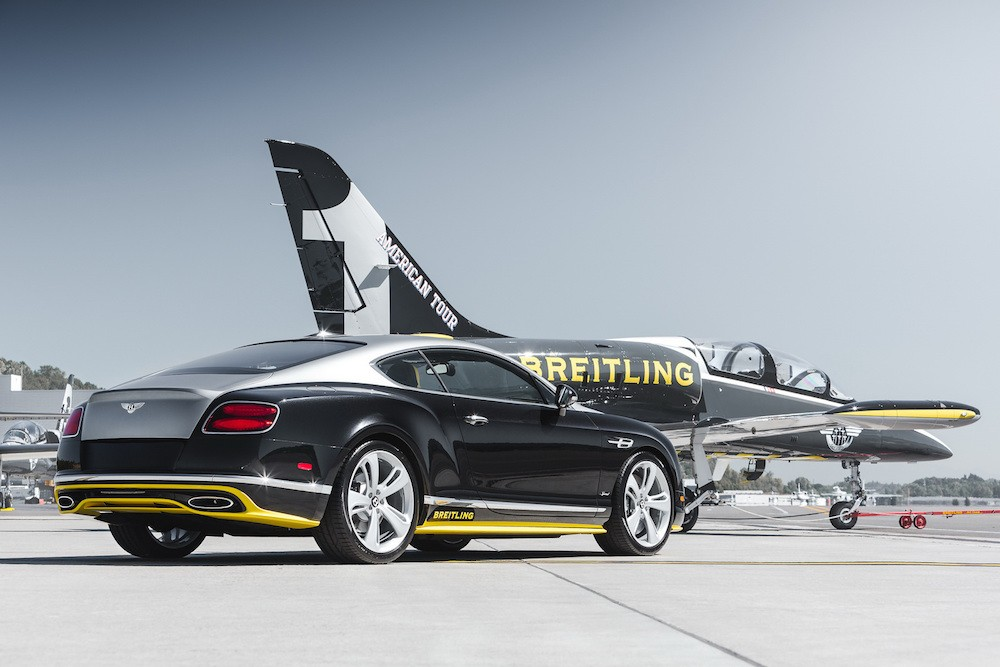 Bentley laver særudgave af Continental GT Speed sammen med Breitling