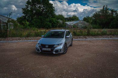 Faceliftet Honda Civic Elegance 1.6 I-DTEC
