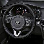Den nye KIA Optima har fået et mere lækkert og eksklusivt interiør.