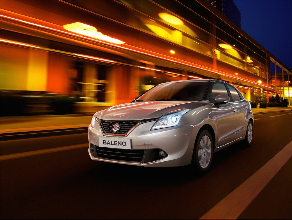 Nye billeder af Suzuki Baleno