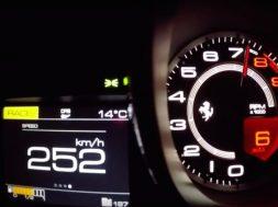 ferrari 488 GTB speedometer