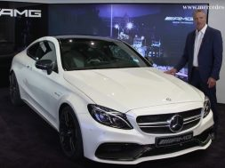 mercedes c63 amg coupe video