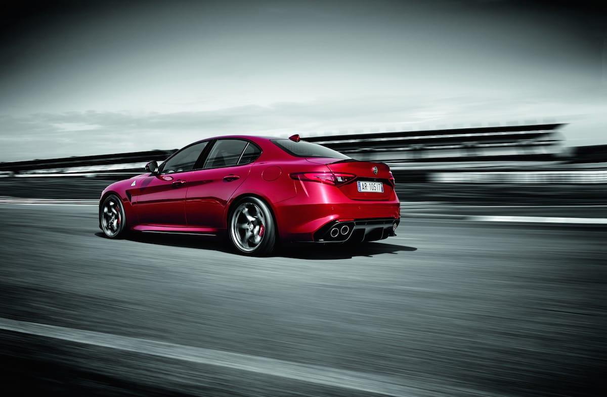 Alfa Romeo bekræfter lynhurtig Giulia QV tid på Nürburgring