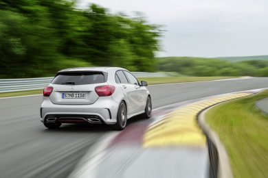 Facelift til Mercedes A-klasse