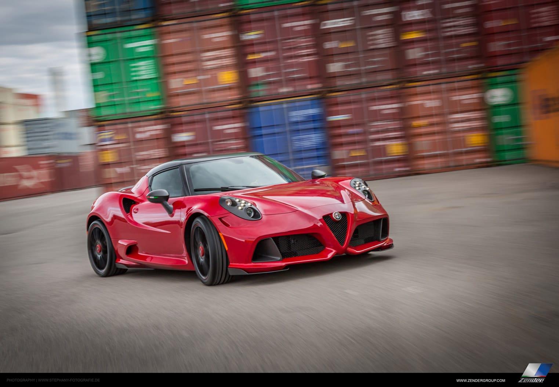 Tuningsfirma får fingrene i Alfa Romeo 4C