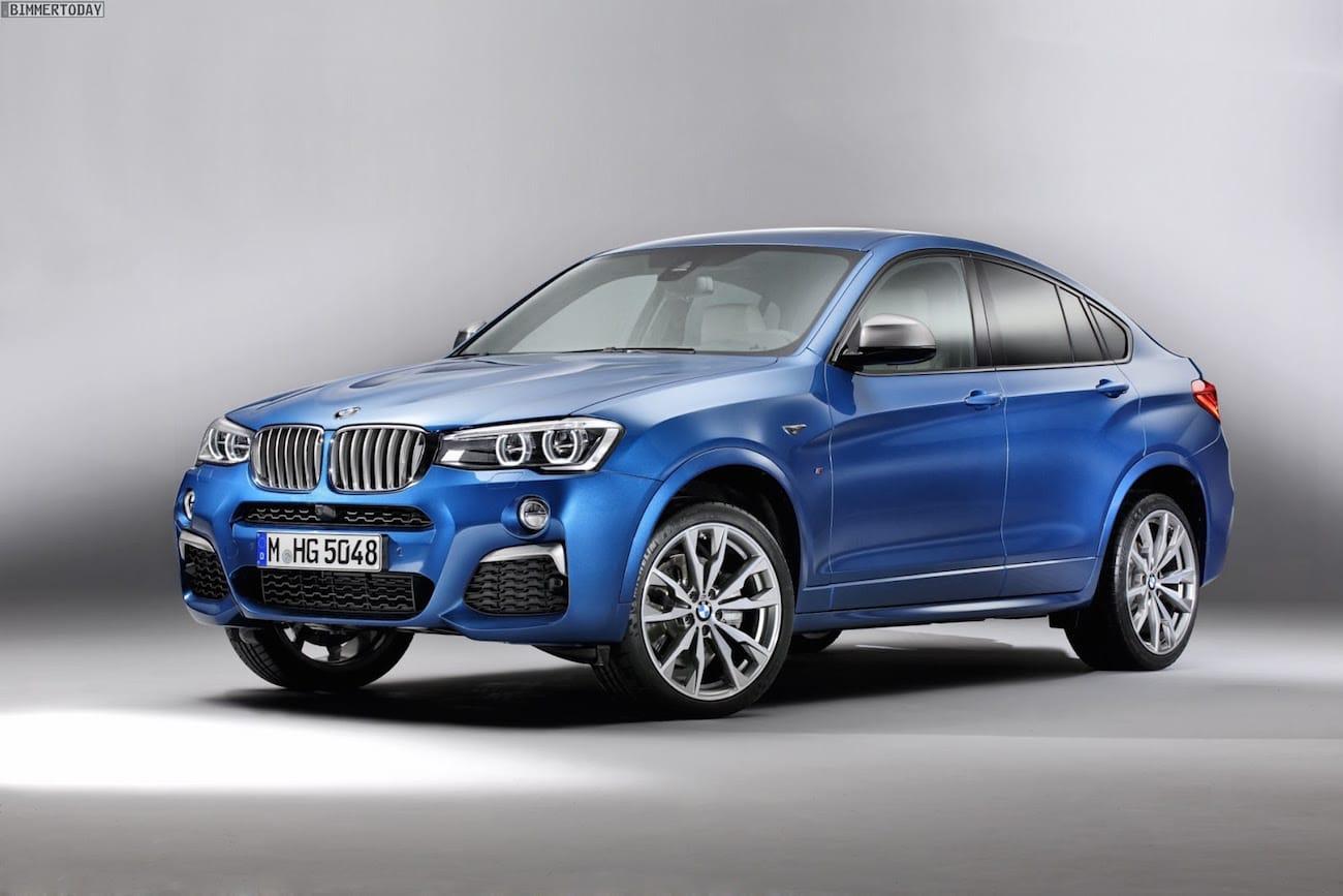 M Performance udgave af BMW X4 ser sjov ud