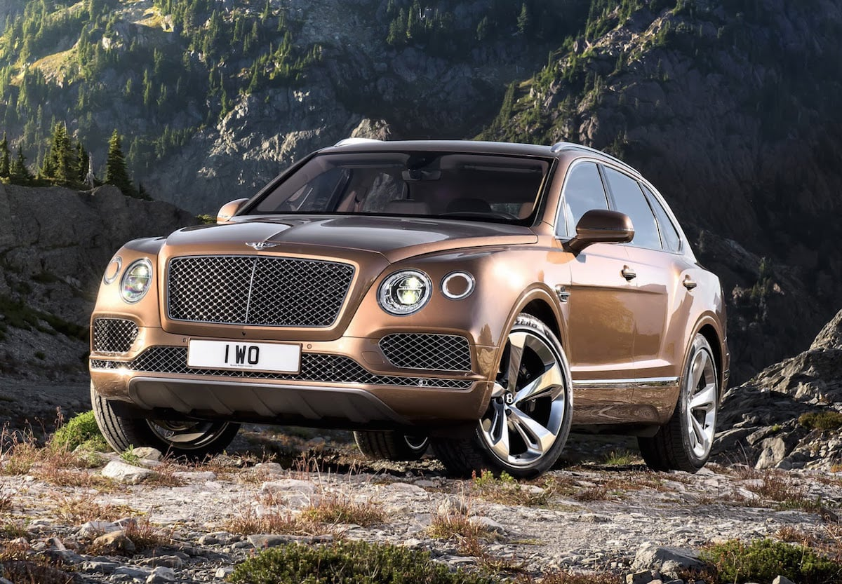 Wow! Her er den nye Bentley Bentayga