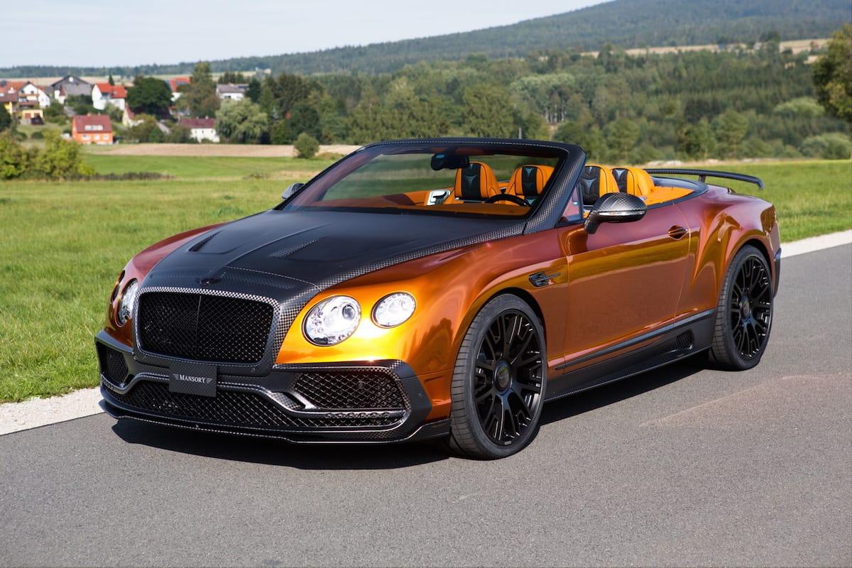 Den her Bentley er IKKE elegant