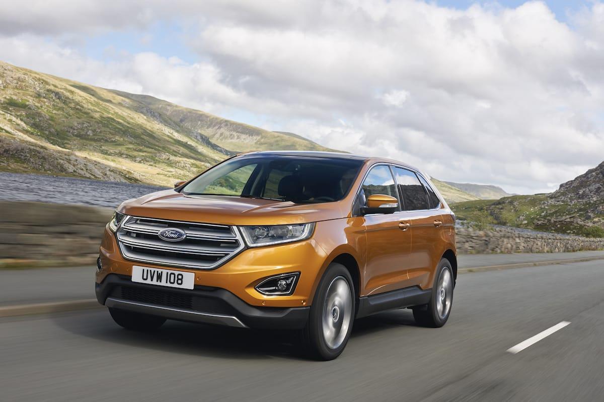 Ford viser ny Edge og Ranger