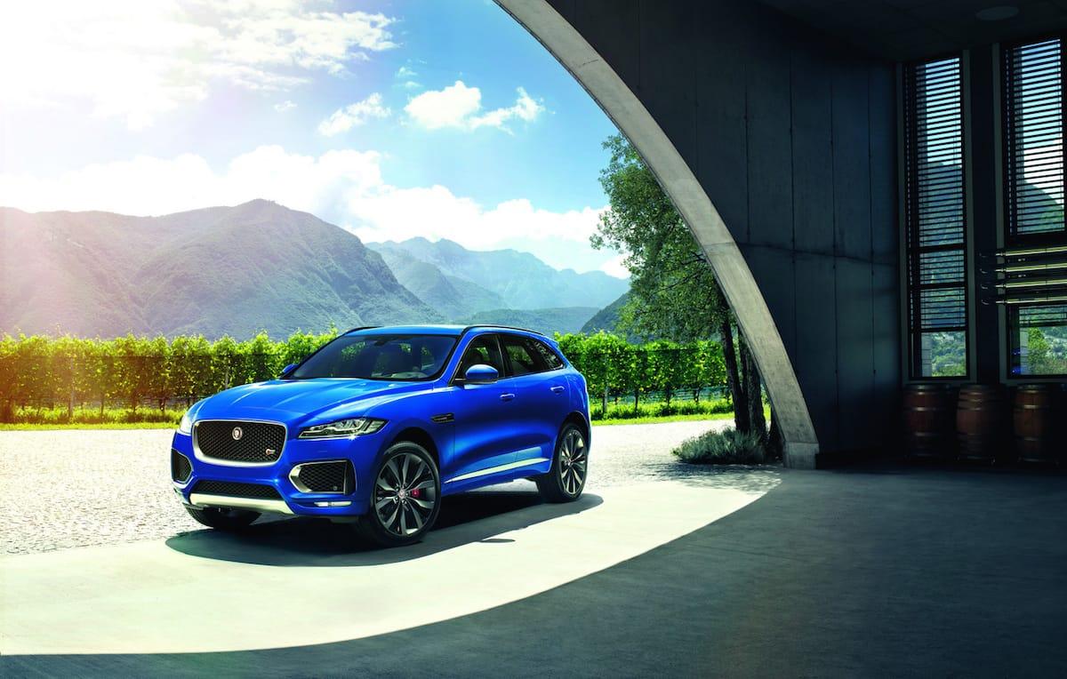 Ny Jaguar F-Pace er endelig blevet offentliggjort