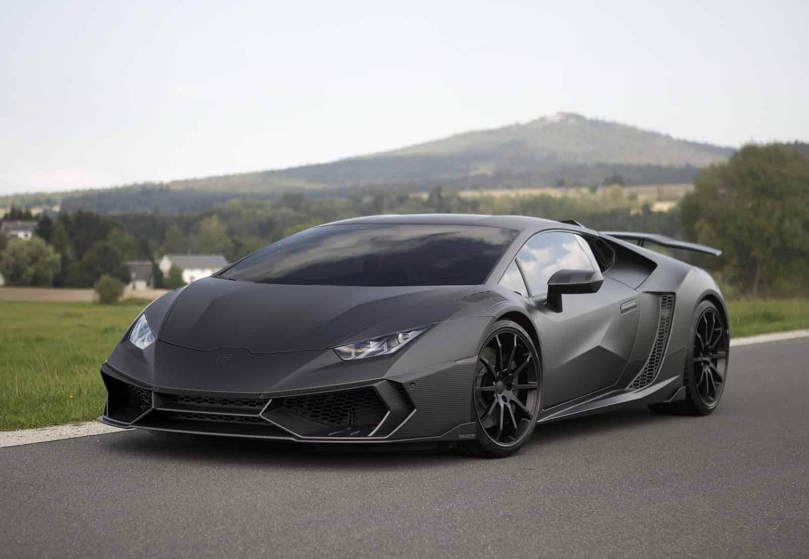 Mansory tuner Lamborghini Huracan til OVER 1200 HK