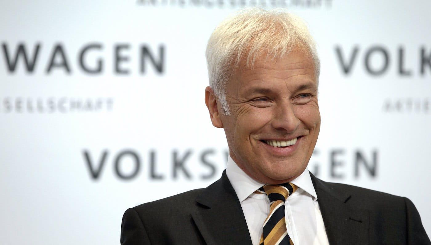 Porsche-direktør overtager rattet hos Volkswagen AG