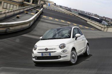 Faceliftet Fiat 500