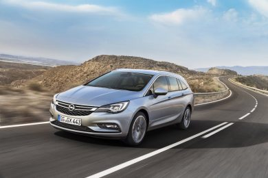 Opel Astra Sports Tourer forfra