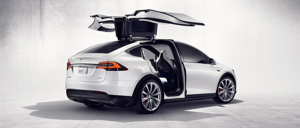 Tesla har opdateret Model X